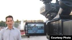 """""""Al-Jazeera"""" telekanalynyň žurnalisti Robin Forestier-Wolker"""