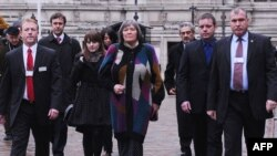 Former International Development Secretary Clare Short in London after giving evidence before the Iraq Inquiry on February 2.