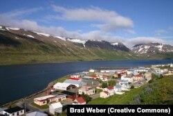 نمایی از سوتهوریری در ایسلند