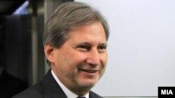 Еврокомесарот за проширување и добрососедска политика, Јоханес Хан