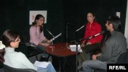 «14-24»ün qonaqları ilə söhbət, 7 noyabr 2006