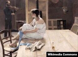 Рычард Бэрг, «Пасьля пазаваньня» (1884)