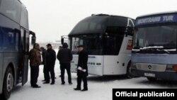 Հայաստանից Ռուսաստան ուղևորափոխադրումներ իրականացնող ավտոբուսներ, արխիվ