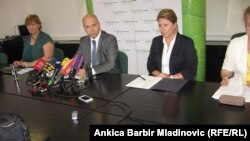 Sa press konferencije u Zagrebu, 23. srpanj 2013.