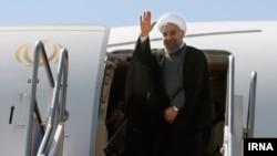 حسن روحانی روز پنجشنبه از ایران عازم نیویورک شد