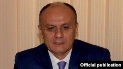 Министр обороны Армении Сейран Оганян.