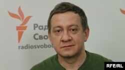 Головний редактор кримськотатарського телеканалу ATR Айдер Муждабаєв