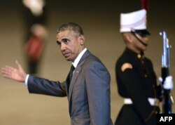 Барак Обама на саммите в Панаме. 9 апреля