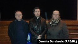 Murat Tahirović, Emir Hotić i Munira Subašić