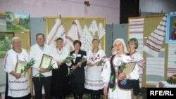 Народні майстри з села Каноничі на святі «Мистецтво одного села», Рівне
