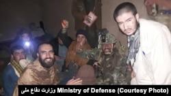 د افغان امنیتي ځواکونو له لوري د طالبانو له یوه زندانه خوشې شوي بندیان