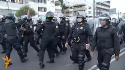 Протесты в Мехико