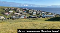 The settlement of Vorontsovo, one of the most remote places in Russia.