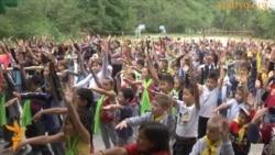 Как лагерь обеспечивается водой?