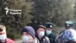 Возвращенные на родину узбекистанцы жалуются на условия содержания в карантине