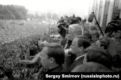 Митинг у Белого дома. Фото: Сергей Смирнов