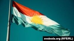 Агульнапрыняты сьцяг курдзкага народу