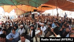 د بلوچستان زیارت پرلتوال له ضلع څخه د اېف سي ځواک د وتلو غوښتنه کوي.