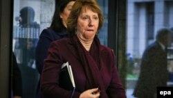 Верховний представник ЄС із закордонних справ Катрін Аштон
