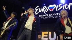 Davor Ebner i grupa Regina, predstavnici Bosne i Hercegovine na 54. Eurosongu u Moskvi