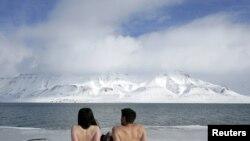 """Aktivisti za očuvanje klime se """"sunčaju"""""""