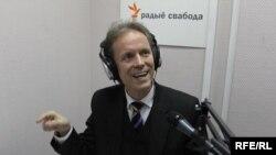 Стэфан Эрыксан у студыі Радыё Свабода