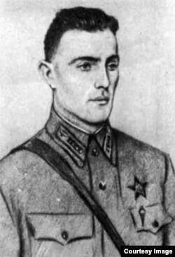 Борис Пивенштейн. Рисунок Ореста Верейского