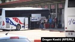 Autobuska stanica u Beogradu