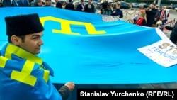 Митинг памяти жертв депортации крымских татар в Киеве, 18 мая 2016 года