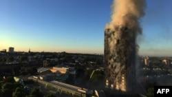 Neboder Grenfel u plamenu, 14. jun 2017.