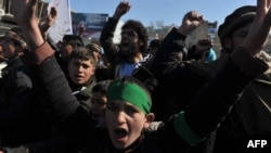 Пратэсты ў Кабуле