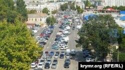 Транспорт в Симферополе. Иллюстрационное фото