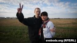 Зьміцер Дашкевіч і Наста Палажанка