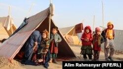 آرشیف، بیجا شدگان داخلی در نتیجه نبردها در افغانستان