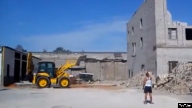 A demolition job in Lipetsk, Russia, went horribly wrong on June 16.