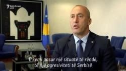 Haradinaj flet për taksën, dialogun dhe idenë për ndarjen e Kosovës
