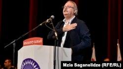 Candidatul învins Grigol Vașadze de la Mișcarea Națională Unită