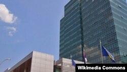 Zgrada Vlade Republike Srpske - ilustracija
