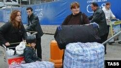 Грузины покидают российские города, в которых жили десятилетиями