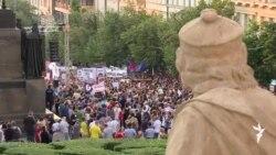 """დემოკრატიის """"მილიონი მომენტი"""" პრაღაში"""