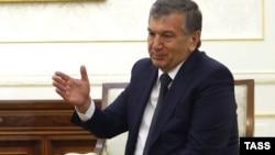 Өзбекстандын премьер-министри Шавкат Мирзияев.