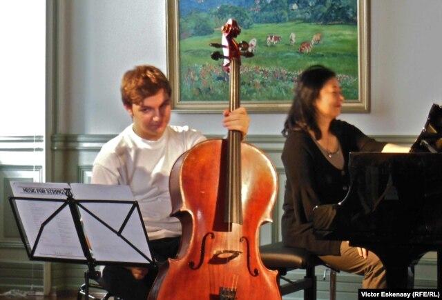 Andrei Ioniță, la un masterclass în septembrie, la Kronberg