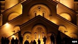 Kishë ortodokse, fotografi ilustruese