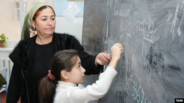 Some 60 percent of schoolteachers in Tajikistan are women. Officials admit that figure is far from accurate, and efforts to convince men to stay in Tajikistan and teach school suggest that to be the case.
