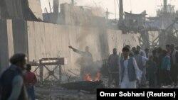 Mjesto eksplozije, Kabul
