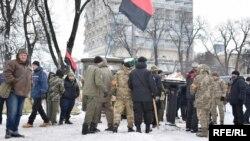 Verkhovna Rada yaxınlığında toqquşmalar, 27 fevral, 2018-ci il