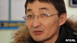 Мұхтар Жәкішевтің адвокаты Нұрлан Бейсекеев. Астана, 10 ақпан, 2010 жыл.