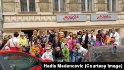 Djeca iz Ladimirevaca u Pragu, foto: Hadis Medenčević