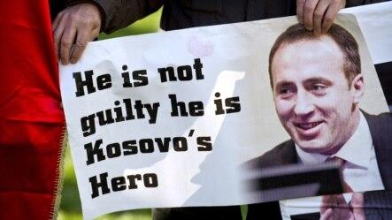 Slavlje u Prištini nakon oslobađajuće presude, 29. novembar 2012.