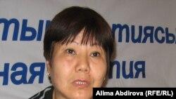 Гульжан Тулемисова, руководитель Центра содействия демократии. Актобе, 5 октября 2010 года.